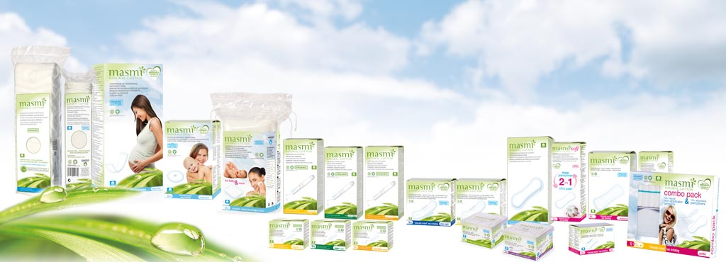 MASMI_NATURAL_COTTON_Certified_Organic_products_feminine_hygiene_wholesaler_skin_care_environment_preserving_health_food_dietary_stores_supermarkets_Spain_export_brand